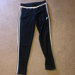 Adidas track pants. Size: M